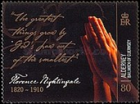 [The 100th Anniversary of the Death of Florence Nightingale, Typ NW]