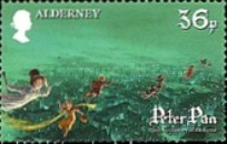 [Peter Pan - The 150th Anniversary of the Birth of J.M.Barrie, Typ OE]