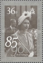 [The 85th Anniversary of the Birth of Queen Elizabeth II, type OX]