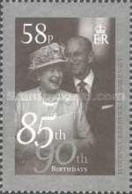 [The 85th Anniversary of the Birth of Queen Elizabeth II, type PB]
