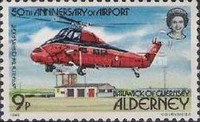 [The 50th Anniversary of Alderney Airport - Aircraft, type R]