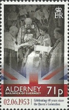 [The 60th Anniversary of the Coronation of Queen Elizabeth II, type RF]