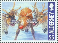 [Christmas - Rudolph the Red-Nosed Reindeer, type RQ]