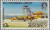 [The 50th Anniversary of Alderney Airport - Aircraft, type S]