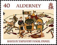 [Final Panel of the Bayeux Tapestry, type SA]