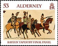 [Final Panel of the Bayeux Tapestry, type SB]