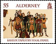 [Final Panel of the Bayeux Tapestry, type SC]