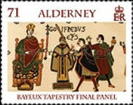 [Final Panel of the Bayeux Tapestry, type SE]