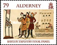 [Final Panel of the Bayeux Tapestry, type SF]