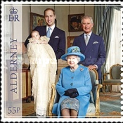 [The 1st Anniversary of the Birth of Prince George of Cambridge, type SH]