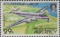 [The 50th Anniversary of Alderney Airport - Aircraft, Typ T]