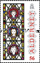 [Christmas - Anne French Stained Glass Windows, type TT]