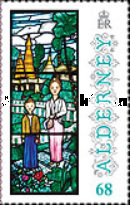 [Christmas - Anne French Stained Glass Windows, type TW]