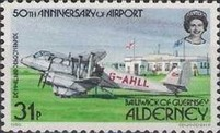 [The 50th Anniversary of Alderney Airport - Aircraft, type U]