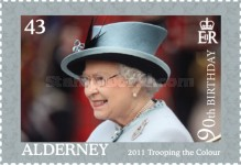[The 90th Anniversary of the Birth of Queen Elizabeth II, type UF]