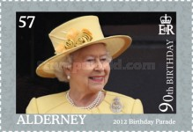 [The 90th Anniversary of the Birth of Queen Elizabeth II, type UG]