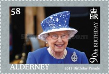 [The 90th Anniversary of the Birth of Queen Elizabeth II, type UH]