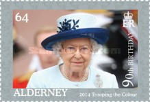 [The 90th Anniversary of the Birth of Queen Elizabeth II, type UI]