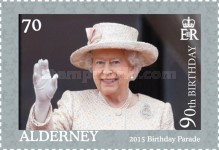 [The 90th Anniversary of the Birth of Queen Elizabeth II, type UJ]