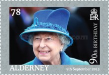 [The 90th Anniversary of the Birth of Queen Elizabeth II, type UK]