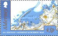 [Alderney and Burhou Map, type UY]