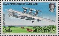 [The 50th Anniversary of Alderney Airport - Aircraft, type V]