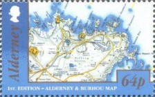 [Alderney and Burhou Map, type VB]