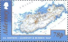 [Alderney and Burhou Map, type VD]