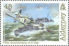 [World War II - The 75th Anniversary of D-Day, type XG]