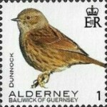 [Definitives - Alderney Birds, type YI]