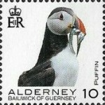 [Definitives - Alderney Birds, type YR]
