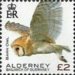 [Definitives - Alderney Birds, type YW]