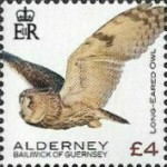 [Definitives - Alderney Birds, type YX]