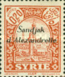 [Syrian Stamps Overprinted in Black or Red, Typ A1]