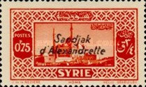 [Syrian Stamps Overprinted in Black or Red, Typ A2]