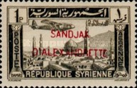 [Syrian Airmail Stamps Overprinted, Typ B8]