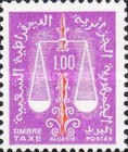 [Postage Due Stamps - Weights of Justice, Typ J4]