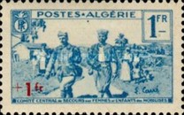 [Charity Stamps, type AO]