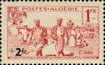 [Charity Stamps, type AO1]
