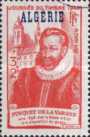 [Stamp Day - French Not Issued Postage Stamp Overprinted
