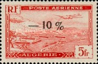 [Airmail - Number 245 Overprinted