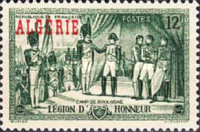 [The 150th Anniversary of the Presentation of the First Legion of Honour - Previous Issue of 1945, Overprinted