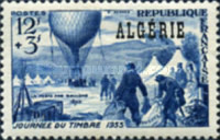 [Day of the Stamp - Previous Issue of 1945, Balloon Post, Overprinted