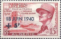 [The 17th Anniversary of General de Gaulle's Call to Arms - Surcharged
