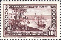 [International Philatelic Exhibition, Algiers, Typ X]