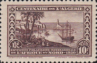 [International Philatelic Exhibition, Algiers, Typ X1]