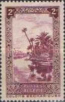 [The 10th Anniversary of the Algerian Postage Stamp - Colomb Bechar, Typ Z]