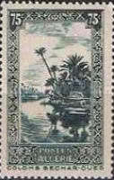 [The 10th Anniversary of the Algerian Postage Stamp - Colomb Bechar, Typ Z1]