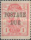 [Postage Stamp No. 2 Overprpinted