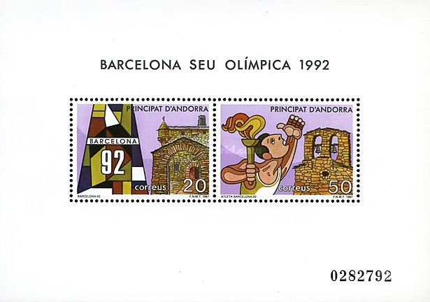 [Olympic Games - Barcelona '92, Spain, type ]